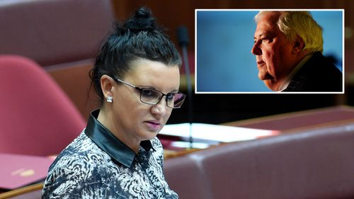 Could Jacqui Lambie be walking away from the PUP?