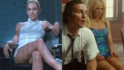 Sharon Stone in Basic Instinct/Nicole Kidman in The Paperboy. Images: Tristar/Lionsgate/Millennium