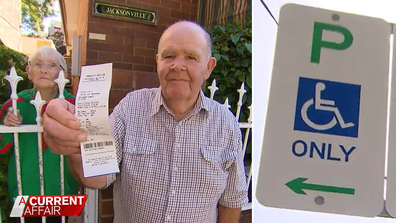 Council fines disabled Aussie for parking in spot they allocated