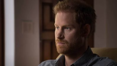 Prince Harry in a still from the trailer for The Me You Can't See