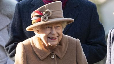 Queen Elizabeth makes her first public appearance since Prince Philip's car crash.