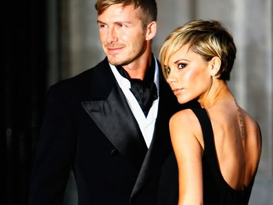 David and Victoria Beckham in 2007