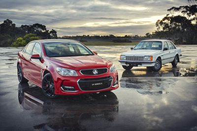 40 years of Holden