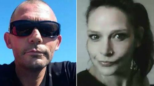 John Windle (left) and his alleged killer Renee Blockey (right).