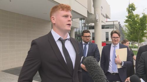 Corey Horsburgh has been fined $500 and had his licence suspended for drink driving.