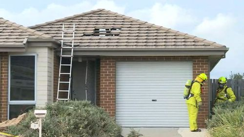 Police have treated the fire as suspicious. (9NEWS)