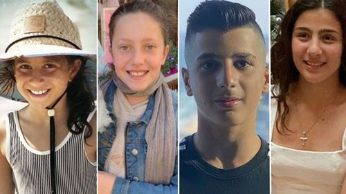 Abdallah siblings Sienna, 8, Angelina, 12, and Antony, 13, died at the scene in Oatlands alongside their 11-year-old cousin Veronique Sakr.
