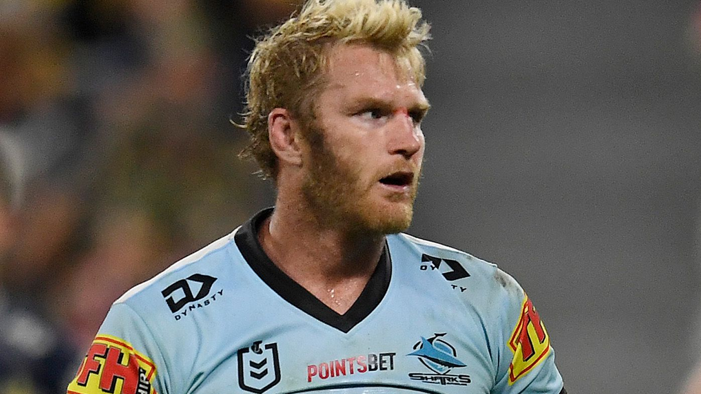 Veteran Sharks prop Aiden Tolman set for one-match ban for high shot on Raiders rookie