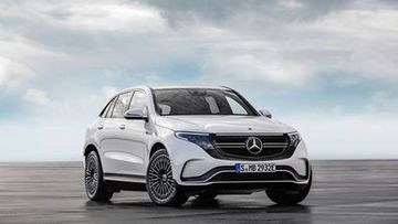 Mercedes-Benz has unvieled its first mass-produced electric vehicle, the EQC.