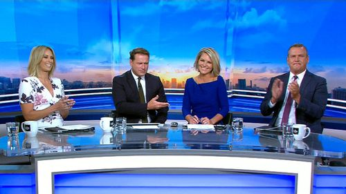 Gardner has joined the new-look panel. (9NEWS)