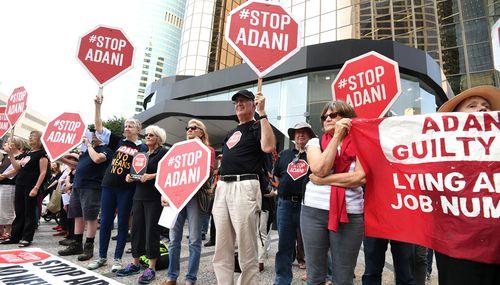 The Adani mine has been the subject of huge protests across Australia