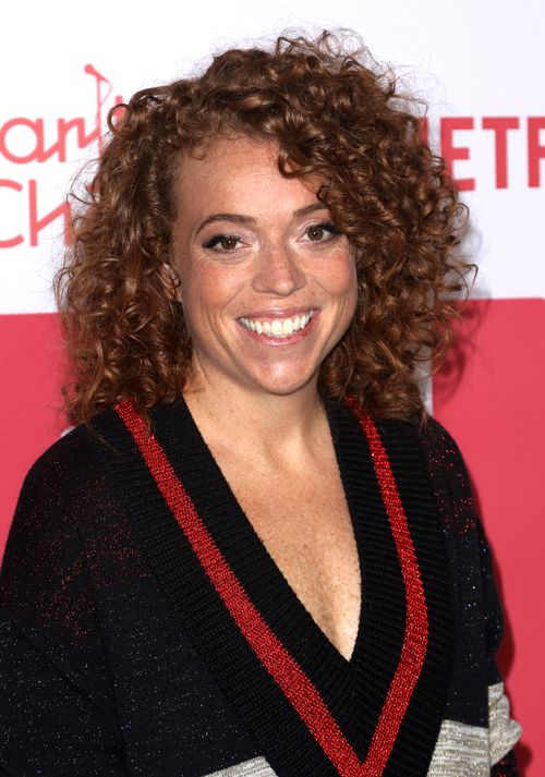 Michelle Wolf arrives at the 6th Annual Hilarity For Charity Los Angeles Variety Show last month. (AAP)