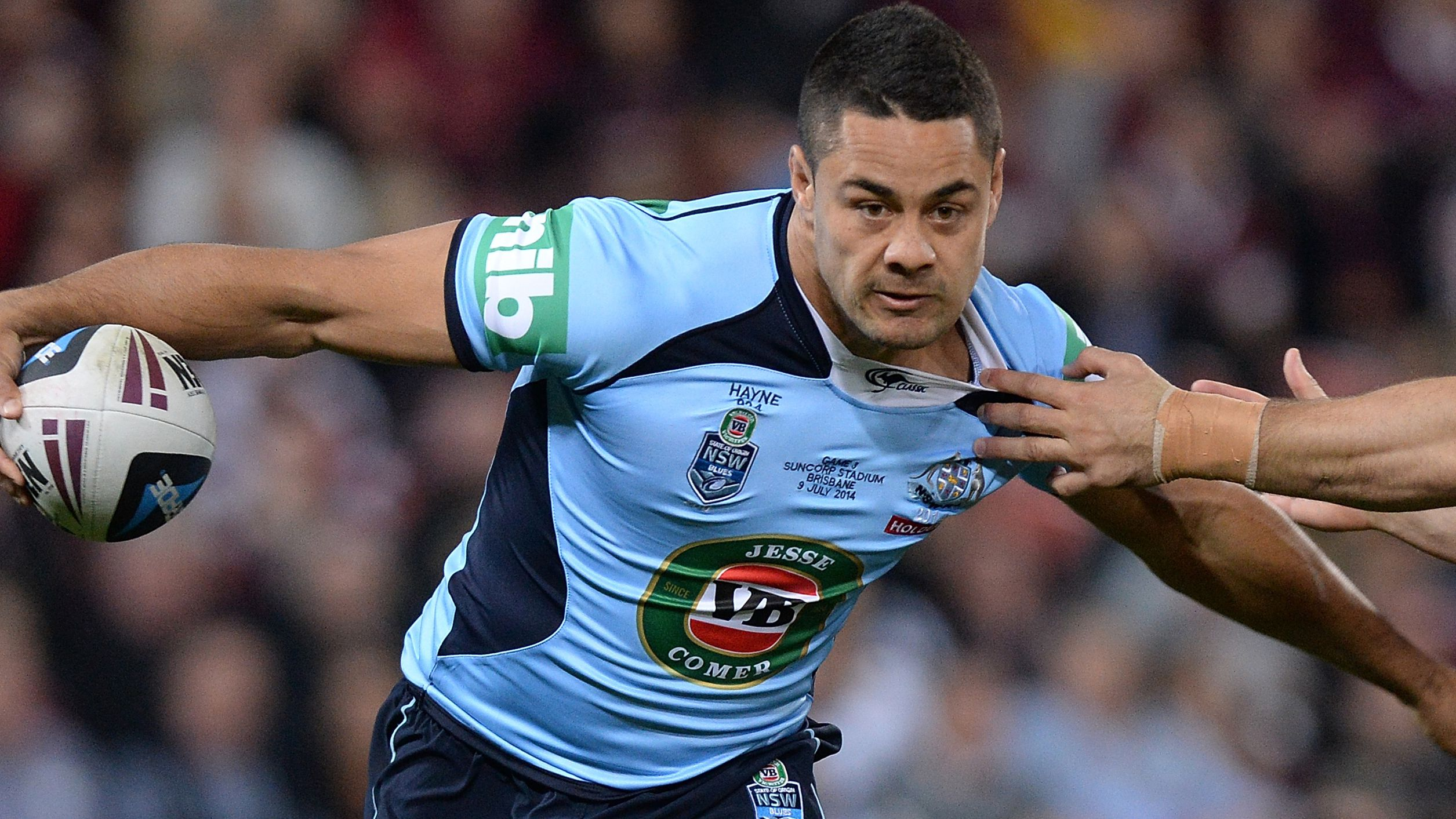 Jarryd Hayne starred for NSW.