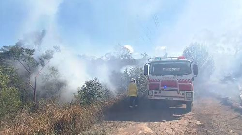 Firefighters have managed to get the upper hand on fires at Nowra on the NSW south coast.