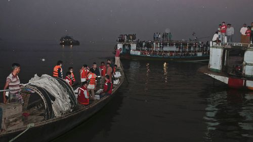 At least 41 dead after overcrowded ferry sinks in Bangladesh river