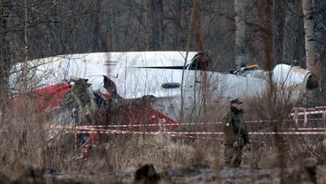 The 2010 Polish presidential plane crash. (AFP)