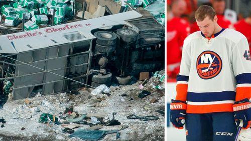 The bus crash tragedy has left ice hockey made Canada stunned. (AP).