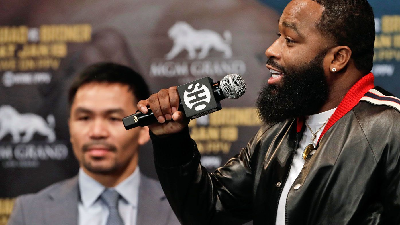 Adrien Broner vows to end Manny Pacquiao's career in Las Vegas