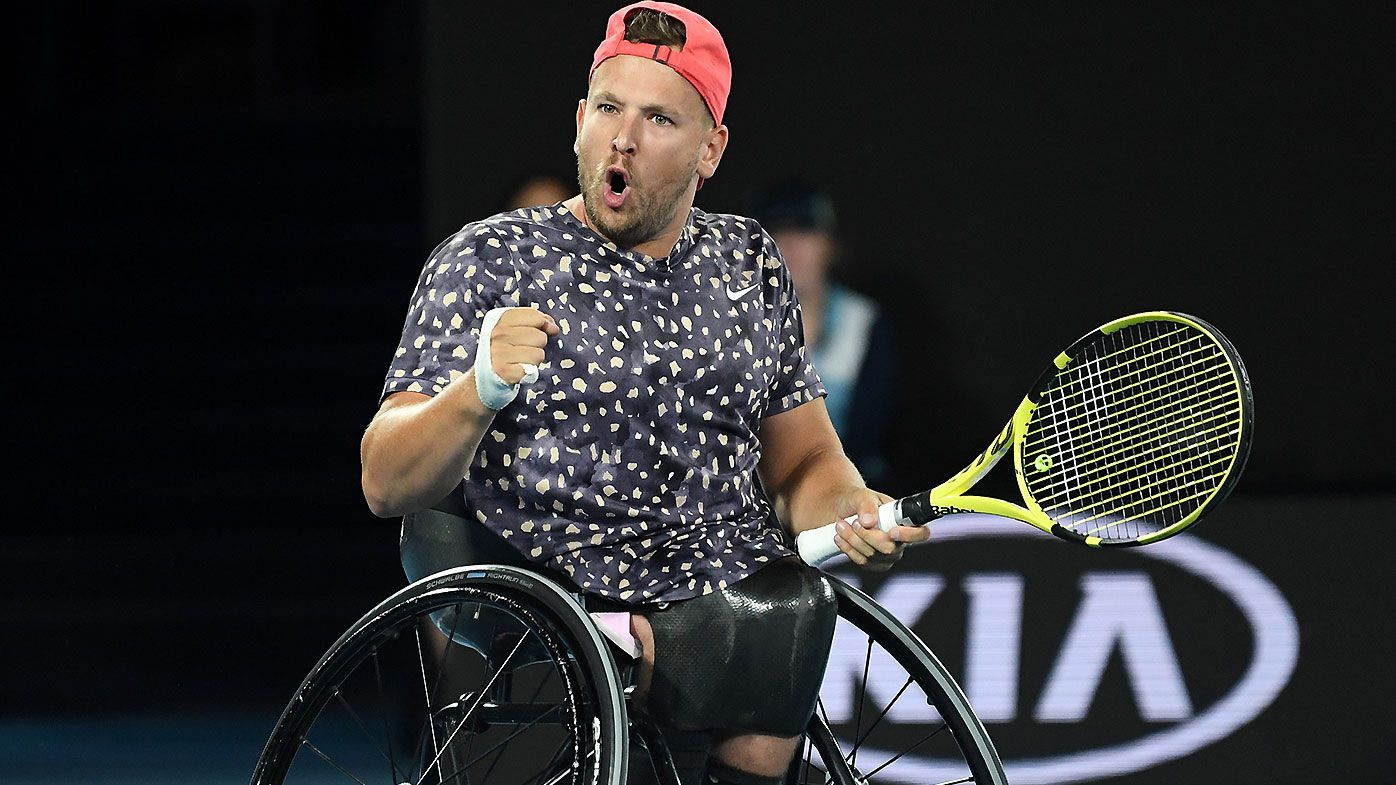 Dylan Alcott slams US Open organisers for 'disgusting discrimination'
