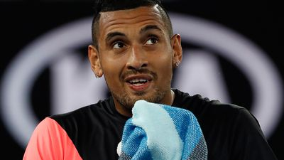 Kyrgios staring down the brink against Dimitrov