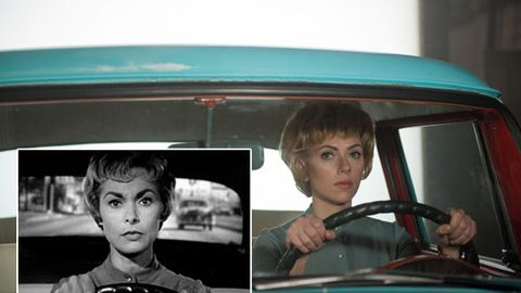 First look: Scarlett Johansson as Psycho actress Janet Leigh in Hitchcock