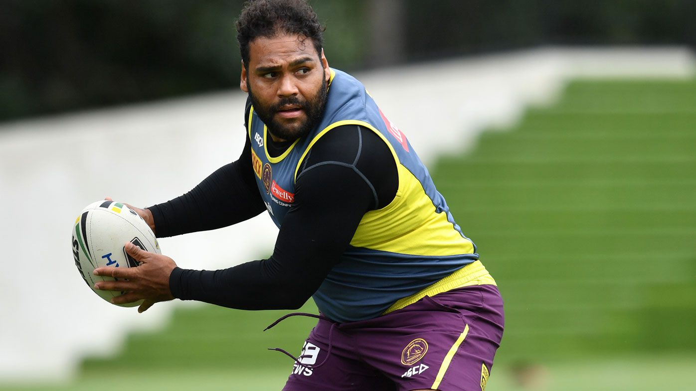 Sam Thaiday is in his last season with the Broncos.