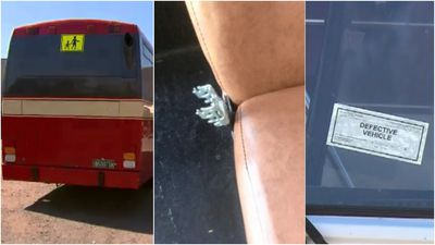 Bus fleet pulled after 'numberplates swapped, metal found'