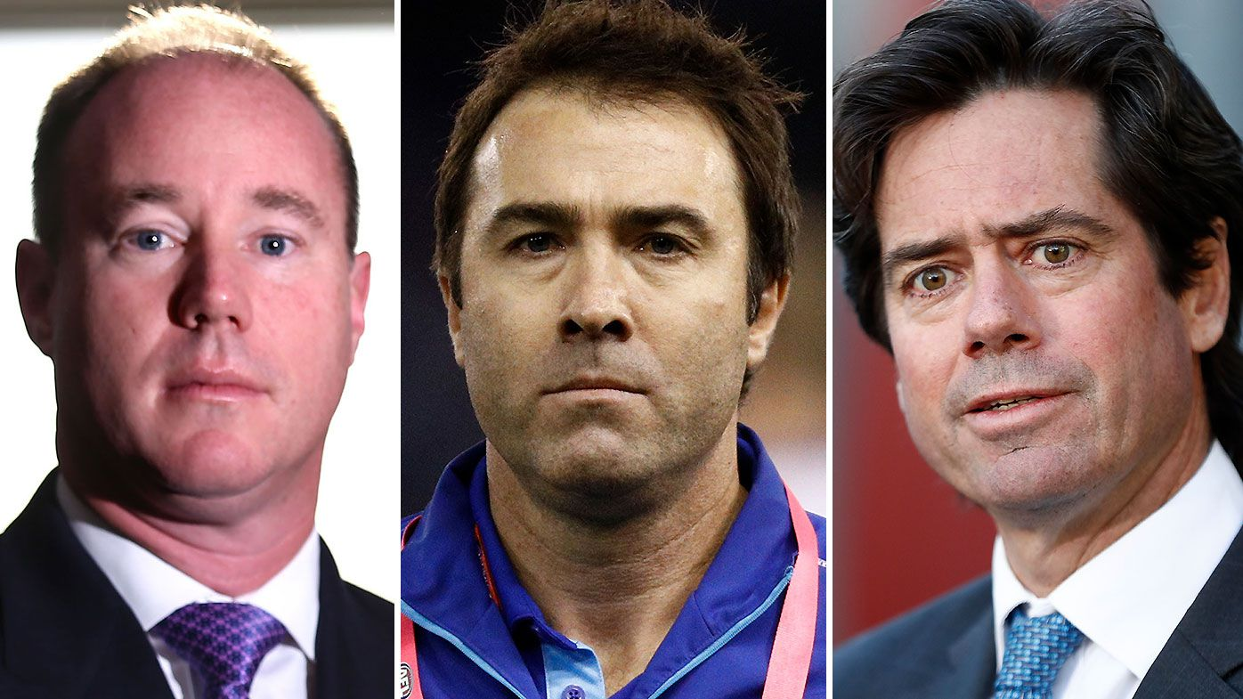 Brad Scott firming as new frontrunner for Carlton job amid 'bizarre twist' in coaching search