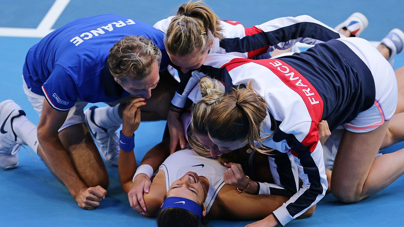 France win the Fed Cup