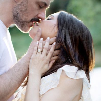 Jenna Dewan, Steve Kazee, engaged, photo, ring, Instagram, announcement