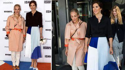 Princess Mary attends the Copenhagen Fashion Summit, May 2018