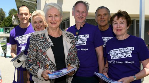 Dr Kerryn Phelps is the Sportsbet favourite to win the Wentworth by-election.