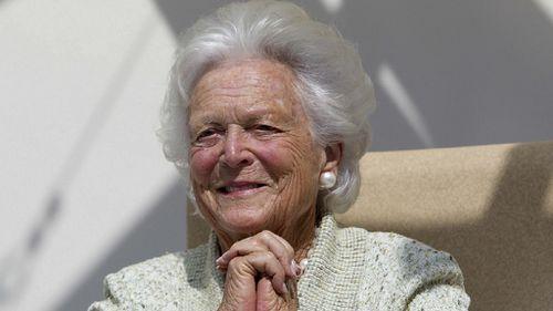 Barbara Bush. (AAP)