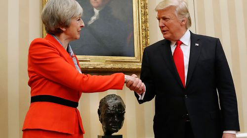 """Donald Trump is scheduled to visit the UK in July for a """"working meeting"""". (AAP)"""