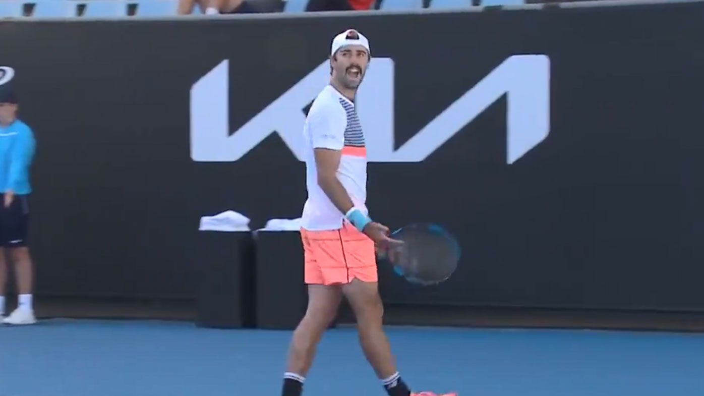 Australia's Jordan Thompson fumes at rowdy 'peanut gallery' in win over Pierre-Hugues Herbert