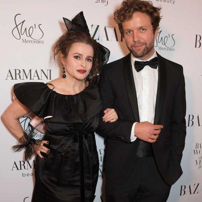 Helena Bonham Carter and Rye Dag Holmboe in october 29, 2019.