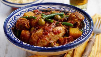 Friday: Chicken tagine with couscous