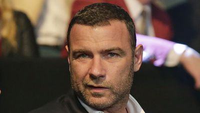 Actor Liev Schreiber is ready to watch the action at Mayweather vs Pacquiao in Las Vegas. (AAP)