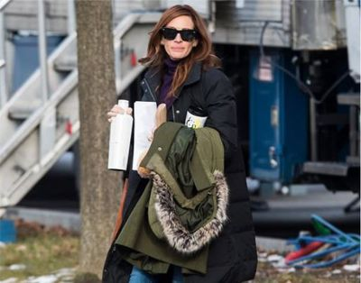 <p>The evolution of Julia Roberts' hairstyle - the 'Pretty Woman' 'do</p>