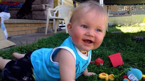 Blake Shaw was killed by a falling cabinet in 2016. Picture: 9NEWS