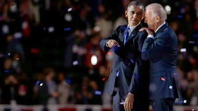 Biden and Obama gear up for the election night party