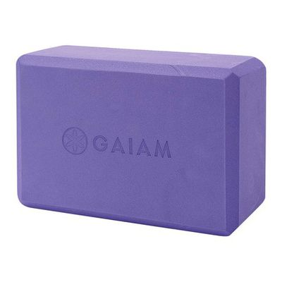 <strong>Gaiam Yoga Block - $14.99</strong>