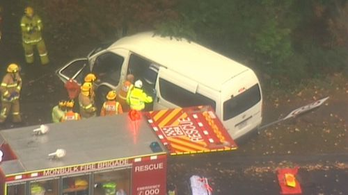 There were 11 passengers on the bus, who were assessed by paramedics.