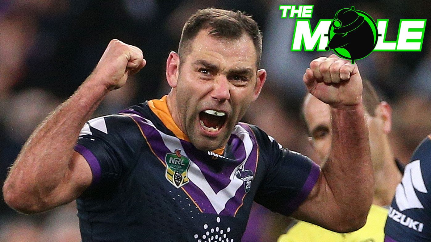 The Mole: Cameron Smith's re-signing could cost Storm Test hooker Brandon Smith