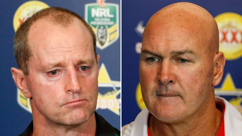 Dragons coach Paul McGregor and Rabbitohs counterpart Michael Maguire the latest to criticise NRL referees