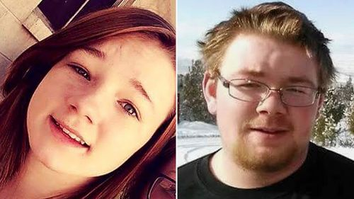 Brelynne Otteson and Riley Powell were found dead in a Utah mine shaft. (AAP)