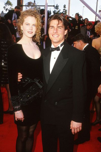 Tom Cruise and Nicole Kidman in Valentino at the 1994 Oscars