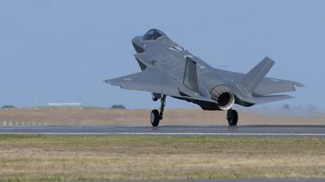 Information about Australia's (F-35) Joint Strike Fighter has been hacked. (AAP)