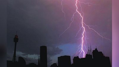 <p>Sydneysiders have captured the dramatic fallout of yesterday's wild weather, in a series of snaps posted to social media.<br /><br />Saturday marked the second day of severe thunderstorms, with heavy rain and hail smashing the city's west and northwest, triggering flash flooding and prompting more than 500 calls to the State Emergency Service.</p><p>Sydney however was not alone – a super storm lashed much of NSW on Saturday afternoon, bringing fierce winds of more than 100km/h and toppling trees and powerlines. </p><p>Picture: A purple lightning strike in Sydney's CBD. (Instagram/julia_jacque)</p><p ><strong>Click through to see more examples of the savage power of mother nature.</strong></p>