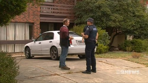 The pair then allegedly fled on foot to a neighbouring home. (9NEWS)